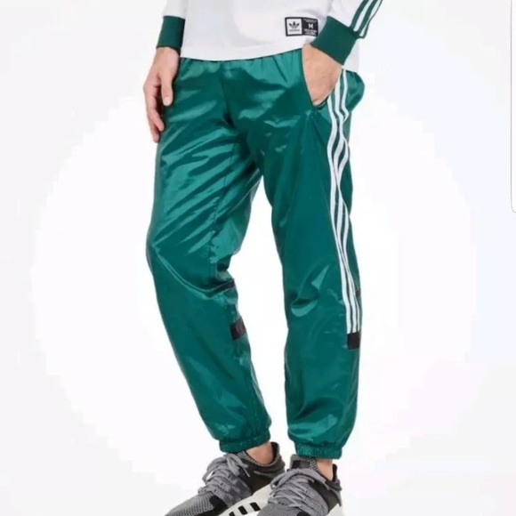 Adidas woven track pants CLR 84 small NWT